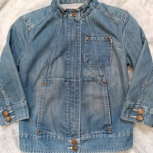 French Connection•FCUK retro design jean jacket